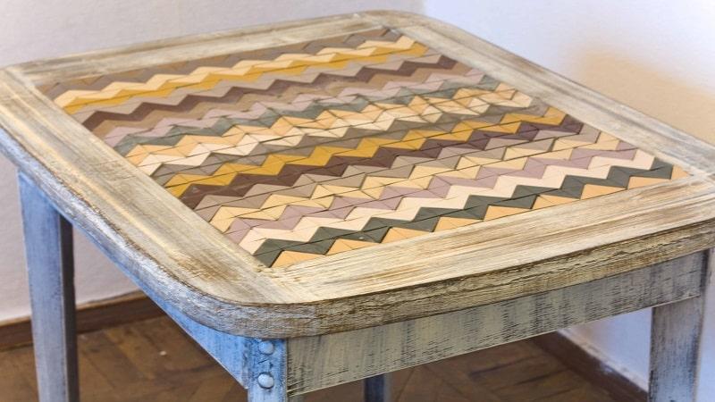 Как реставрировать кухонный стол