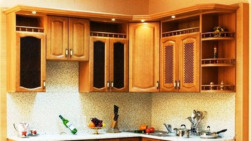 Кухонные гарнитуры для маленьких кухонь - экономим место на кухне
