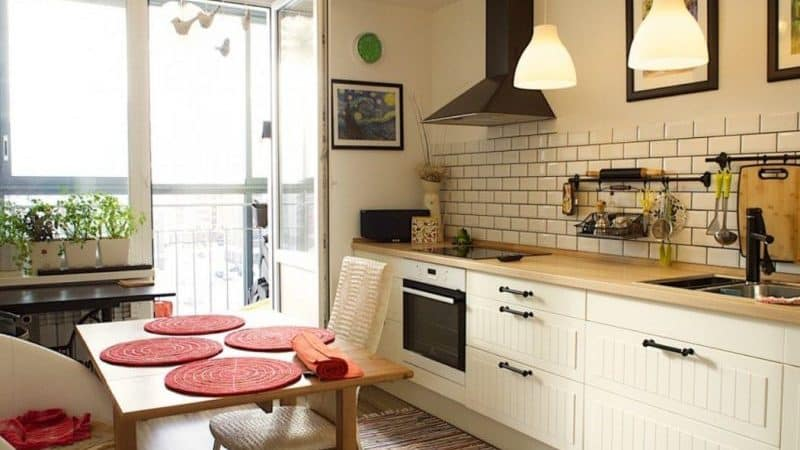 О кухне без верхних шкафов: современный стиль