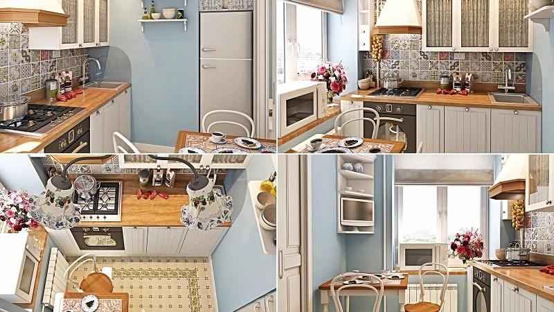 Обустройство маленькой кухни — особенности дизайна и планировки