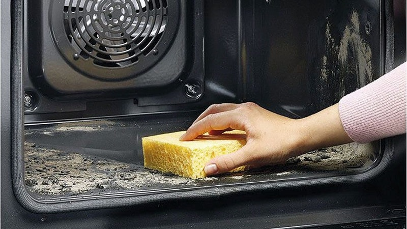 Средства и способы чистки электрических плит