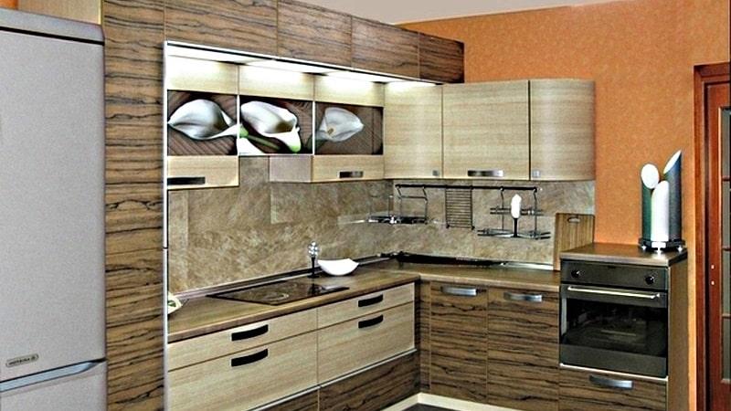 Всё об использовании стеновых панелей МДФ на кухне