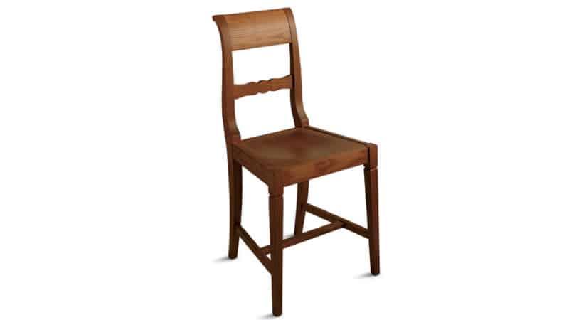 Подбираем деревянные стулья со спинкой для кухонного гарнитура