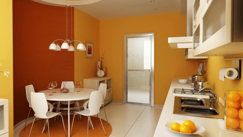 Стулья разных ярких цветов для кухни, как подобрать под интерьер