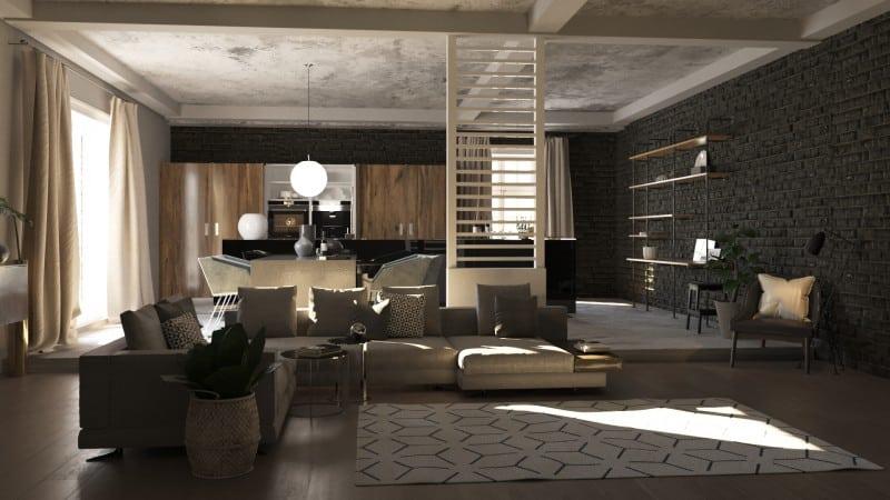 О дизайне кухни-гостиной и совмещенном интерьере в частном доме