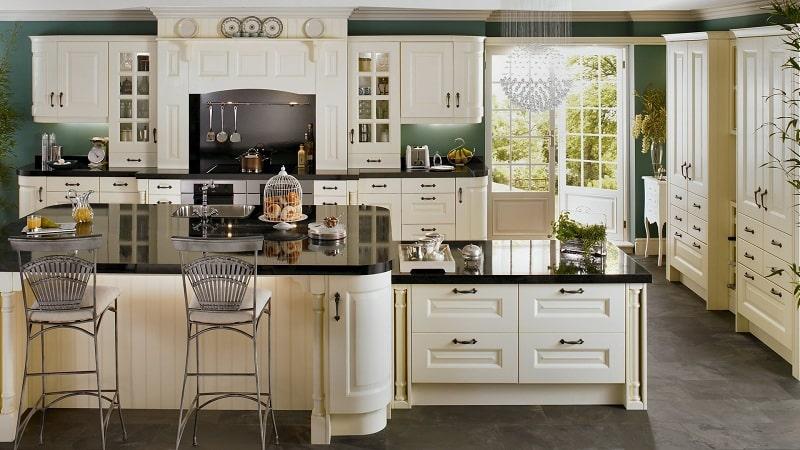 Красивая кухонная мебель