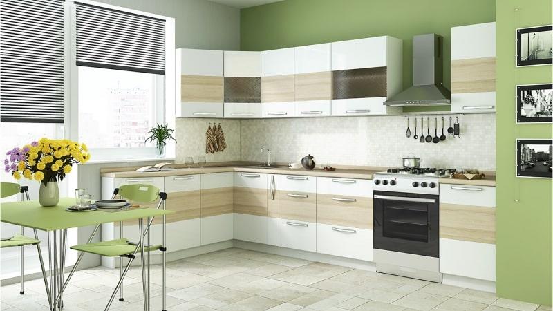 Навесные посудные шкафы и шкафчики для кухни