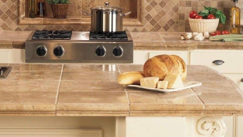 Плюсы и минусы керамической столешницы для кухни