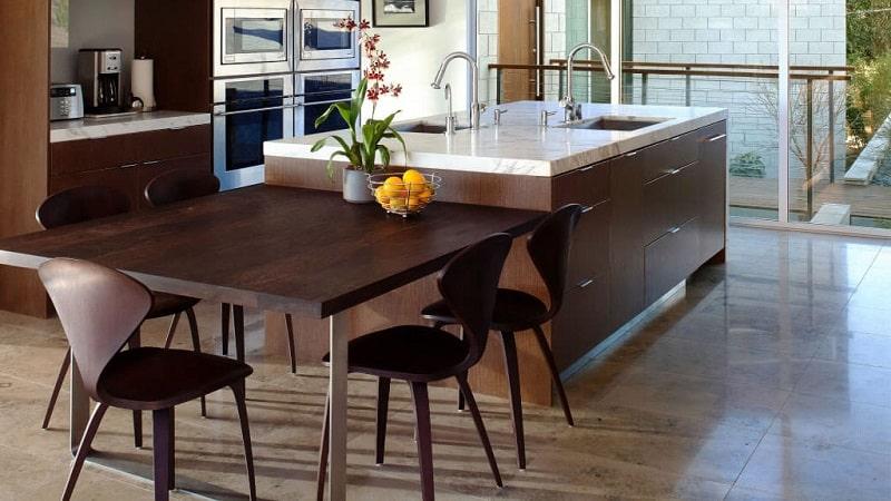 Стандарты высоты кухонного стола и их применение на практике