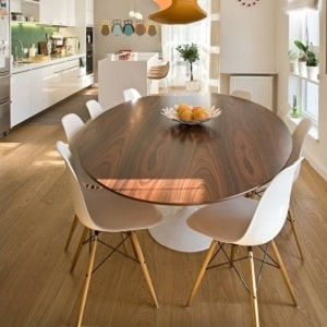 Современные, необычные и оригинальные кухонные столы