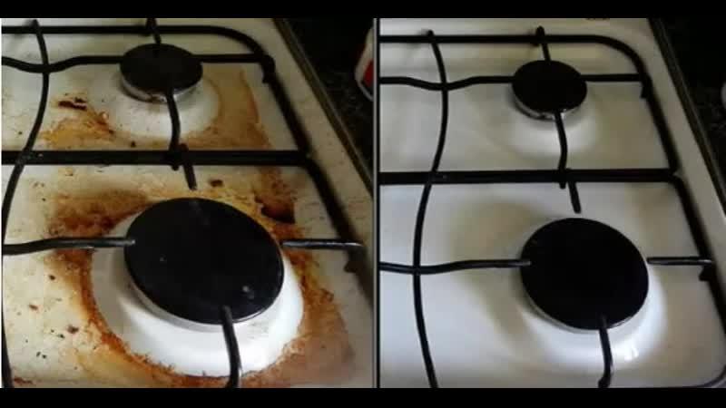 Средства для чистки газовой плиты от жира и нагара
