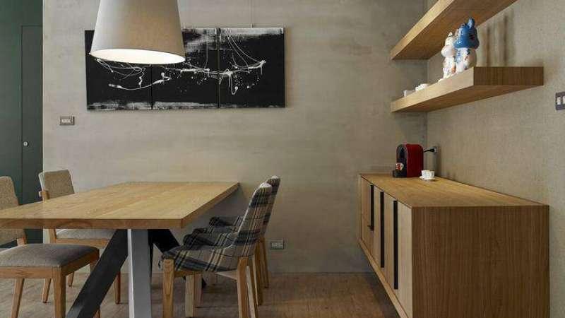 Стулья в стиле лофт в интерьере кухни