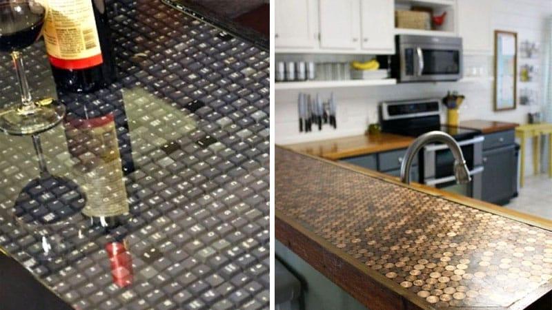 Декор столешницы для кухни своими руками: красиво и оригинально