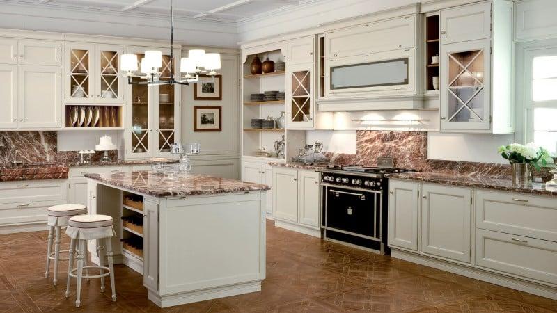 Актуальный дизайн и интерьер современных кухонь