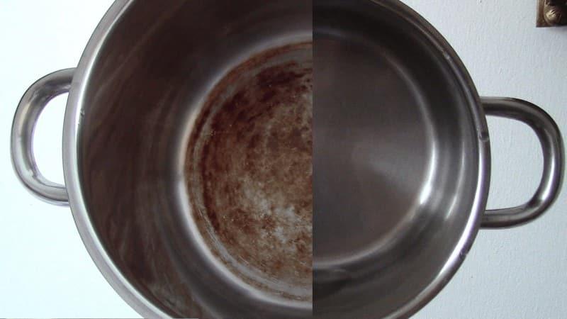 Как отмыть кастрюли от накипи в домашних условиях