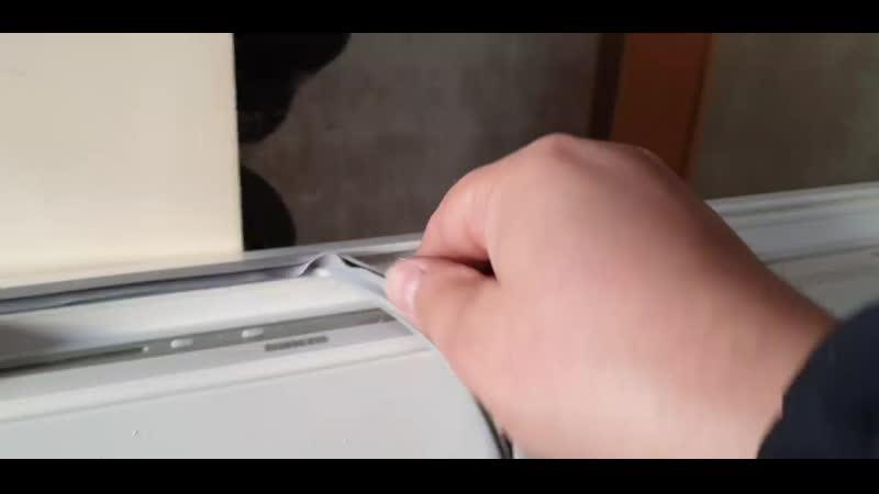 Как заменять уплотнительную резинку в холодильнике