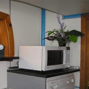 Можно ли поставить микроволновую печь на стиральную или посудомоечную машину