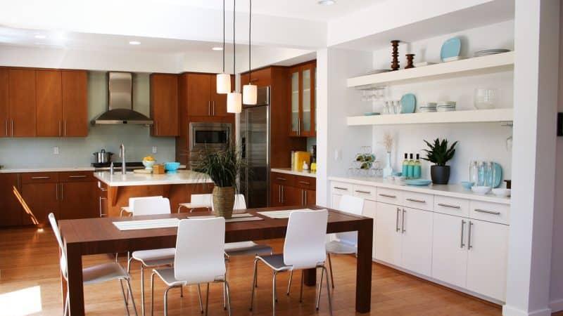 Планирование кухни-столовой: творческий проект