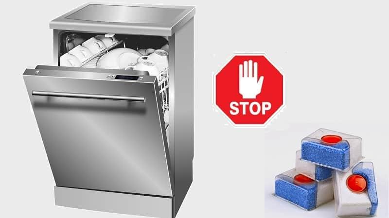 Почему в посудомоечных машинах не растворяются таблетки