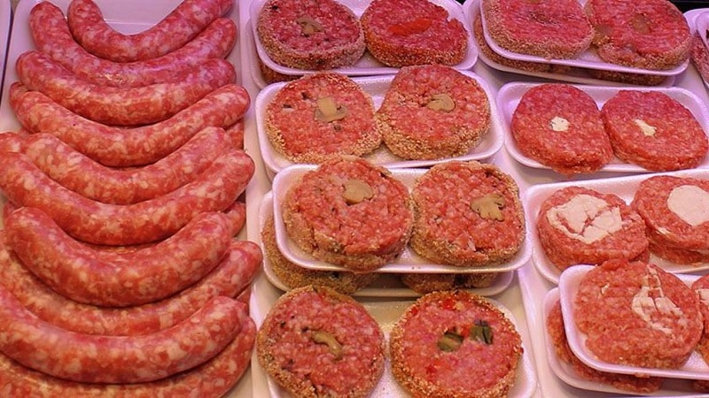 Сколько можно хранить мясные полуфабрикаты