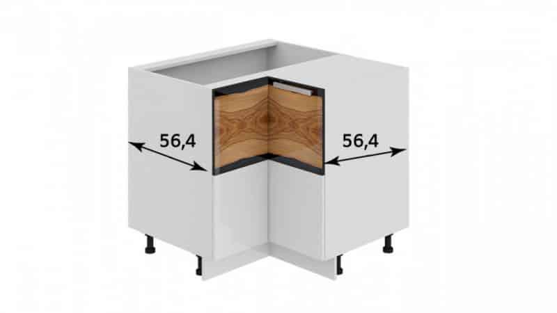 Угловые модули для кухонь - удобно располагаем мебель