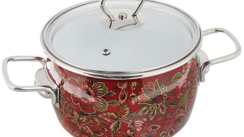 Использование эмалированной кастрюли для готовки в духовке