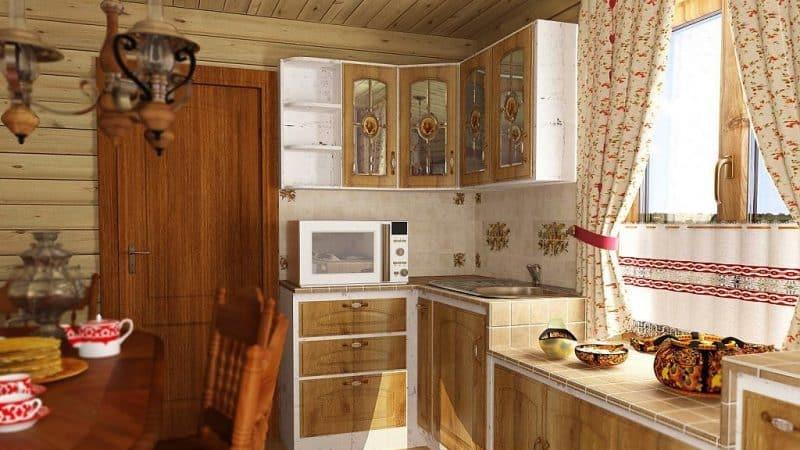 Выбираем мини кухню для дачи эконом класса