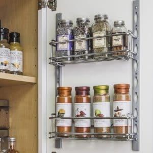 Кухонная полочка для специй: как сделать самостоятельно
