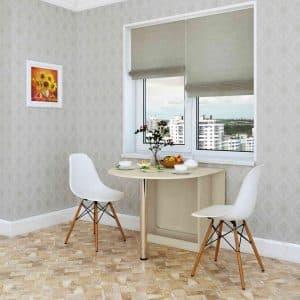 Откидные, настенные и подвесные столы на кухню