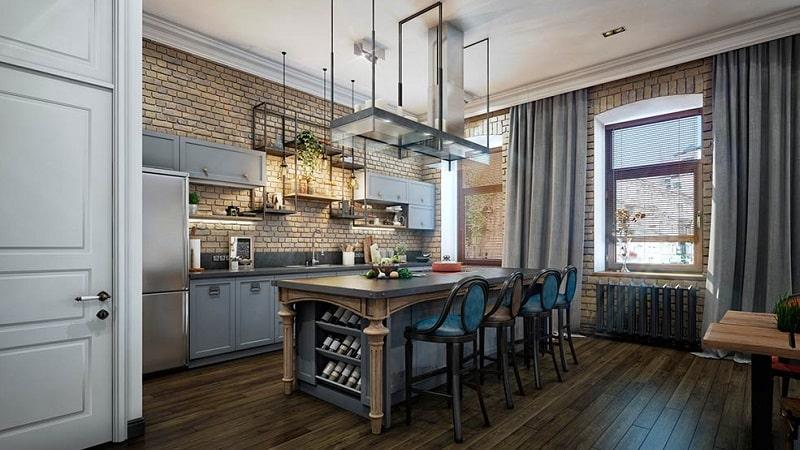 Столы для кухни в стиле лофт