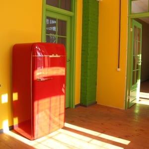 Как и чем покрасить домашний холодильник