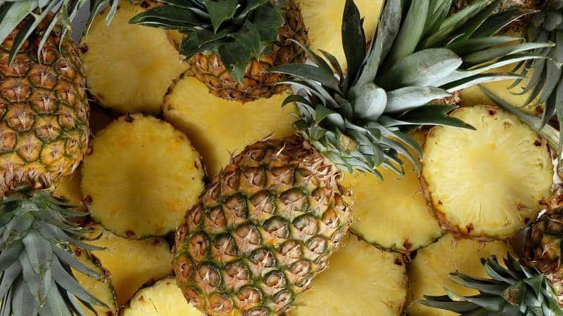Как хранить ананас дома