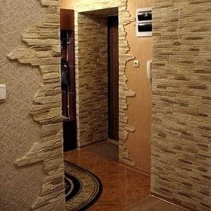 Как оформить проем между кухней и коридором