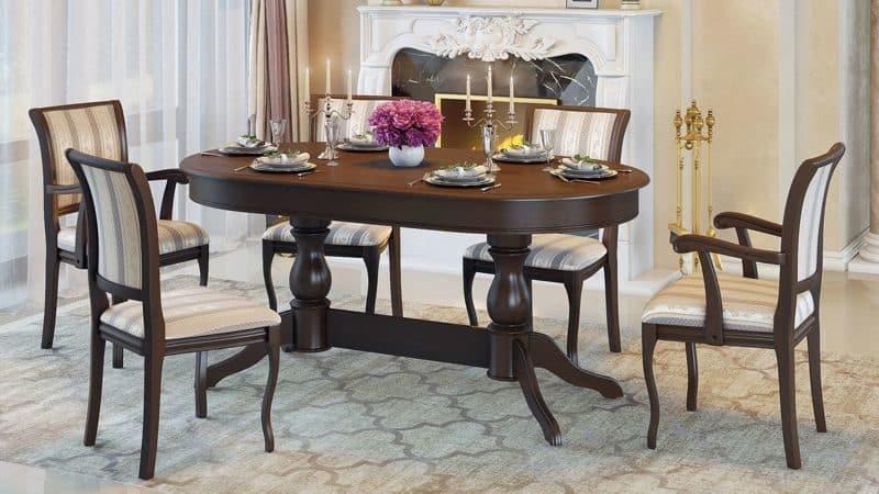 Как выбрать для элитной кухни кухонные столы и стулья класса премиум