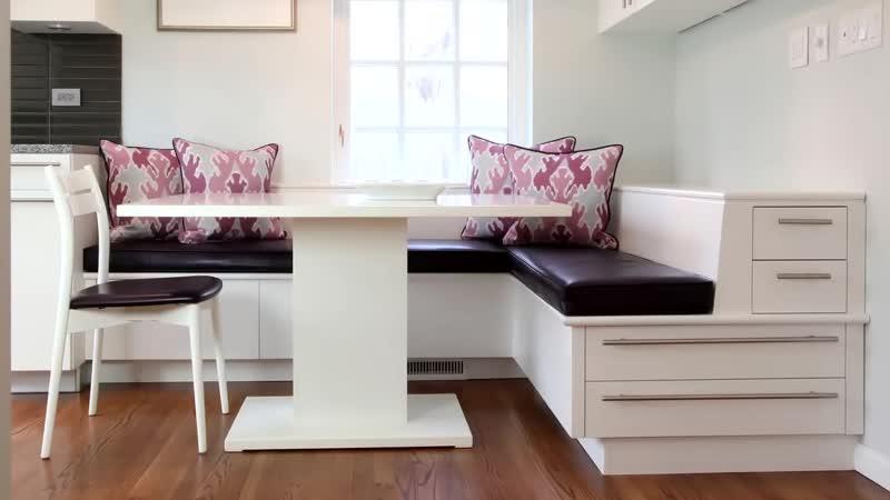 Добавляем эргономики - диван на кухню с ящиком для хранения и полочкой