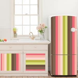 Обновление холодильника снаружи — как изменить цвет
