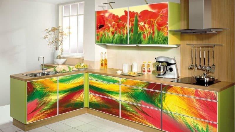 Обновление, восстановление и отделка кухонного гарнитура