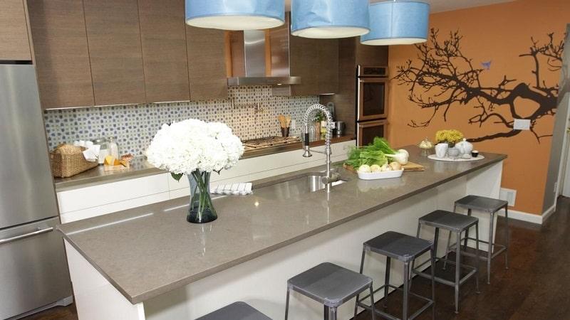 Размеры барной стойки для кухни