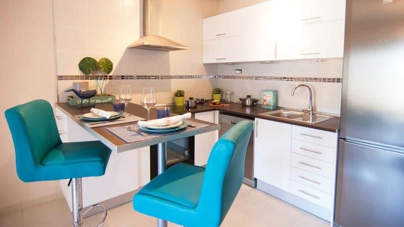 Дизайн стильных кухонных стульев