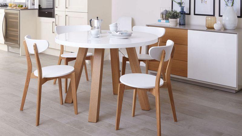 Современные овальные столы на кухню