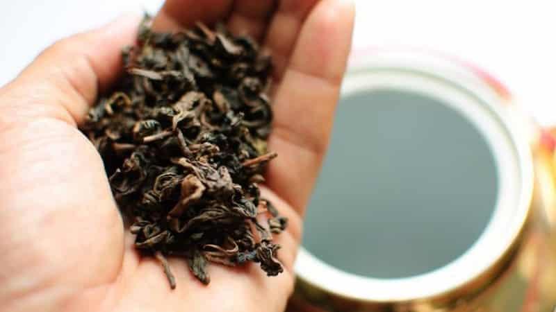 Сколько можно хранить листовой чай