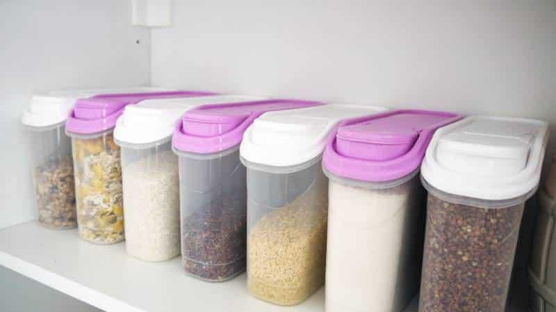 Хранение круп и муки в домашних условиях — способы и условия