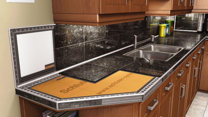 Как сделать столешницу из плитки на кухню своими руками: пошаговая инструкция