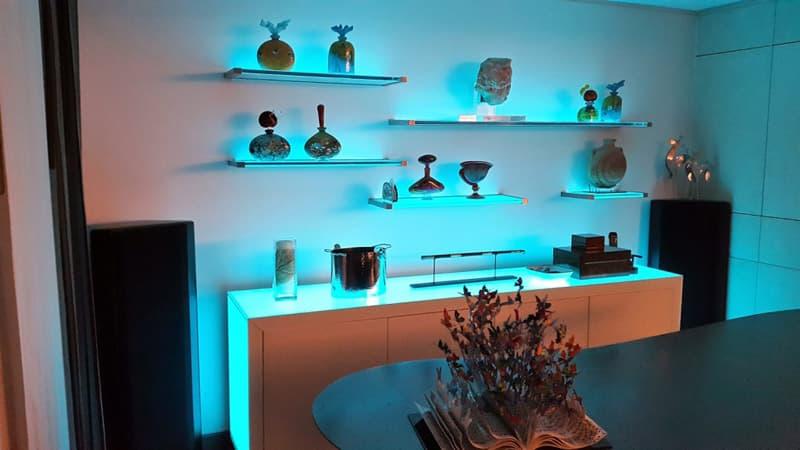 Декоративные кухонные полки на стену