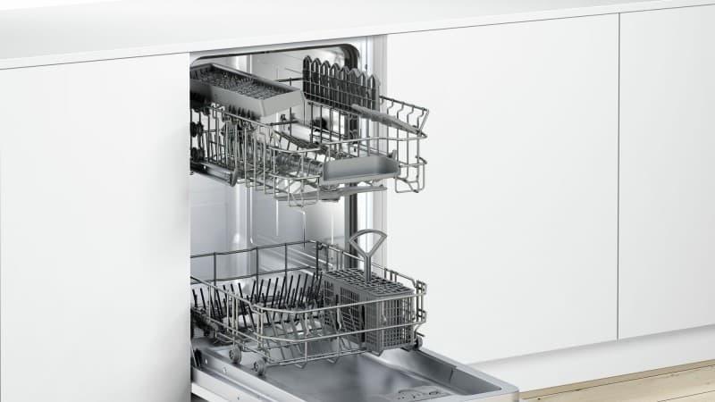 Как встраивается посудомоечная машина в кухню