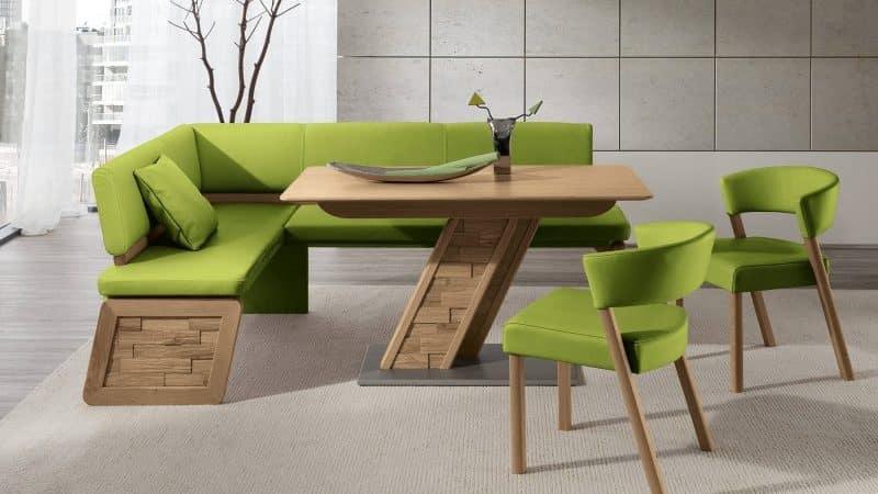 Стильные и красивые диваны для кухонь разных размеров