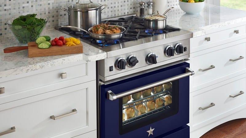 Виды современных газовых плит для кухни