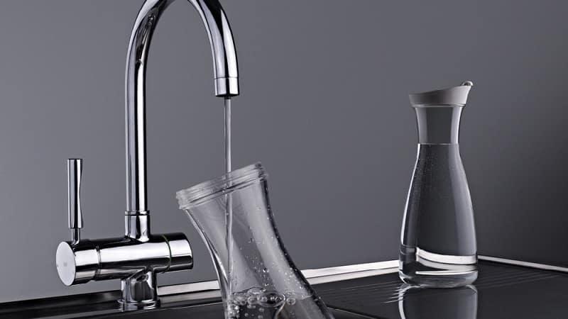 Как установить кран для питьевой воды на кухонной мойке