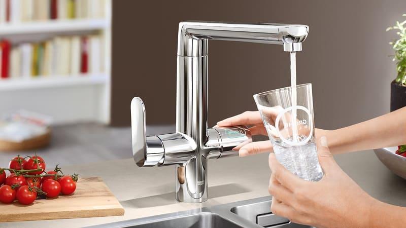 Все о смесителях для кухни с подключением к фильтру с питьевой водой