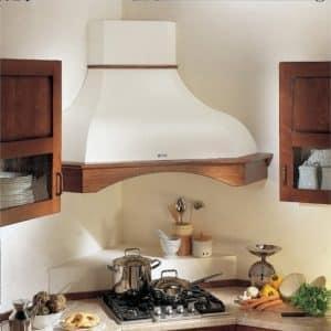 Все об угловых вытяжках на кухню - как выбрать и удачно разместить